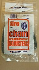2 NEW snow tire passenger car rubber chain adjusters tighteners bungees