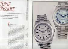 SP95 Clipping Ritaglio 2010 Rolex Oyster Perpetual Day-Date