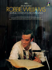 Swing When You're Winning - Alto Saxophone, Robbie Williams
