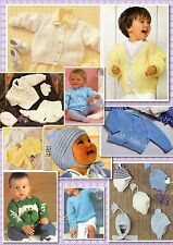 100+ Vintage BABY BOYS KNITTING PATTERNS ~ Handsome Selection