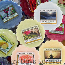 10 X Yankee Candle Wax Tarts Melts U CHOOSE FREE P&P Mixed Set MIX AND MATCH