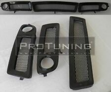Audi A6 C5 97-01 Central lower grills for bumper fog lights hole right left mesh