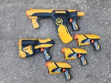 Lot 5 Nerf Dart Tag blaster guns Quick 16 Sharp Shot SpeedLoad 6 all test works