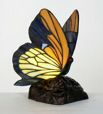 Tiffany Style Butterfly Table Lamp