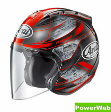 NEW IN BOX ARAI SZ-RAM4 CHRONUS RED 57-58cm M Medium HELMET MADE IN JAPAN