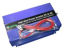 NEW SUPEREX DC TO AC 1000 WATT POWER INVERTER - 25 AVAILABLE