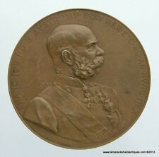 1898 Austrian Empire Franz Joseph 50 Year Reign Medal J Tautenhayn Copper 50mm