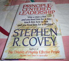 Principle-Centered Leadership by Stephen R. Covey (1990, Hardcover) book