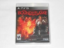 NEW Bound By Flame Playstation 3 Game PS3 SEALED RPG bind flam spiders focus