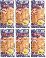 6 x 6g. BENTO Squid Seafood Snack Seasoned Flavor Thai Food Delicious