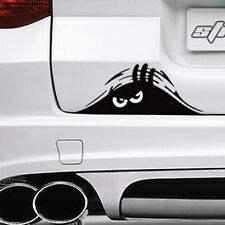 2pc Auto Car Rear Scratches Strange Dune Bad Emotion Peeking Monster Car Decal