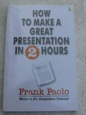 HOW TO MAKE A GREAT PRESENTATION Book India