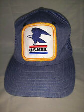 Vtg USPS Old Style U.S. Mail Mesh Hat Cap Postal Carrier Tupac Poetic Justice