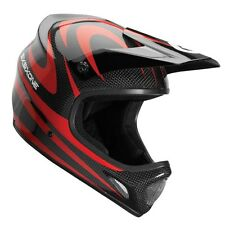 SixSixOne 661 EVO Camber Carbon MTB Bicycle Helmet Black Red Adult XLarge XL