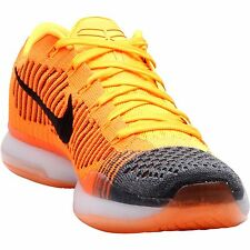 NIKE Kobe X Elite Low Chester Rivalry Edition Total Orange Laser Flyknit SIZE 10