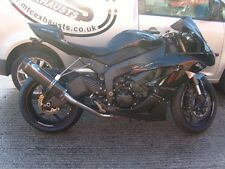 Kawasaki ZX6R 2009- 2016 Carbon Tri-oval Carbon outlet Road Legal MTC Exhaust