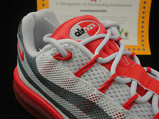 Nike Air Max '95 - 2013 DYN FW, Grey / Matte Silver / Red, Size 8.5 Retail $180