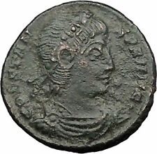 CONSTANS Gay Emperor son of Constantine the Great Roman Coin Victory i32782