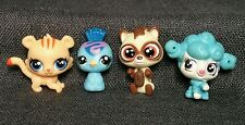Hasbro Littlest Pet Shop Mini Pets Tiger cat Bird Poodle Dog lot g84