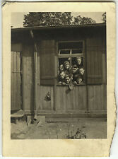 PHOTO ANCIENNE - VINTAGE SNAPSHOT - MILITAIRE CAMP LAGER 17 BERLIN STO 1943  6