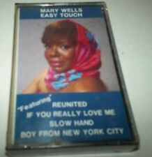 Mary Wells Easy Touch Cassette SEALED