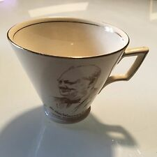 Royal Winton Grimwades Roosevelt Churchill Commemorative Tea Coffee Cup WWII WW2