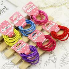 Candy Color Kids Elastic Hair Rope Ponytail band ties girls hair accessories New