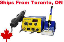 BAKU BK-601D SMD HEAT GUN AND SOLDERING IRON STATION WITH STAND-- REWORK STATION
