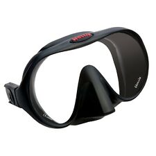 Hollis M-1 Frameless Mask Scuba Snorkeling Tech Diving Free Dive BK 205-4500-07