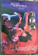 AUTO EROTICA ORIGINAL 1S ONE SHEET VIDEO POSTER '93 RED SHOE DIARIES ALLY SHEEDY