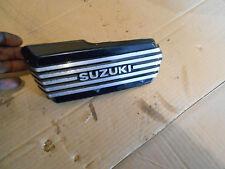 Suzuki Madura GV700 GV 700 GV700GL 1985 left side carburetor carb cover