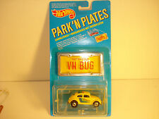 HOT WHEELS PARK N PLATES  blasic wheels   VW BUG  REDLINE ERA   BP