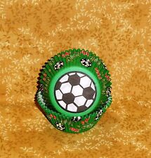 Soccer, Football ,Bake Cups, Wilton, 50 count.Cupcake Papers, Sports,FootBall