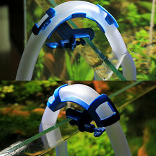 Aquarium Filtration Water Pipe Filter Hose Holder For Mount Tube Fish Tank QW
