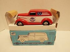 "Liberty Classics 1937 Chevy Sedan ""Captain America"" Signed Don Garlits Bank  NIB"