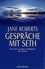 GESPRÄCHE MIT SETH - Buch mit Jane Roberts - GOLDMANN TB