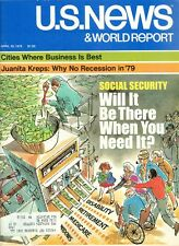 1979 U.S. News & World Report Magazine: Social Security - Will It Be There
