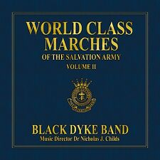 CD World Class Marches of The Salvation Army Volume 2 (2010) - Black Dyke Band