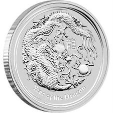2012 Australia 10 oz Silver Dragon Lunar Coin Ready to Ship