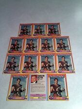 *****Charlton Heston*****  Lot of 14 cards / Hollywood Walk of Fame