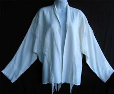 TIENDA HO~off White~Fringe~DOLMAN~Woven SUSTI~Textured~batwing~Appache Jacket~OS