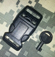 Concealed Buckle Handcuff Key  x4 for police use, covert EDC