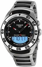 TISSOT SAILING TOUCH MULTI-FUNCTION ST.STEEL MEN'S WATCH T056.420.21.051.00 NEW