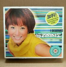 Hong Kong Sammi Cheng I Deserved Rare Made In Singapore CD + Premium VCD FCB1132
