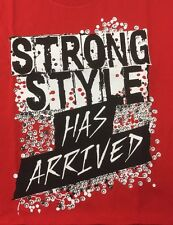 Shinsuke Nakamura Strong Style Has Arrived Muscle Shirt Red Xl Nxt Wwe New