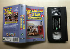 BBC - FIREMAN SAM 6 - ALL IN A GOOD CAUSE - VHS VIDEO