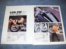 "1995 Harley-Davidson Custom Ridgid Article ""Low, Fat and Fast"" Chopper"