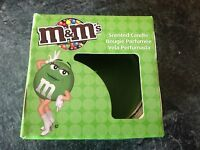 Tarty Pear Scented M&M's Candle & Glass Holder - New & Boxed