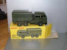 Dinky France #818 Berliet Army Truck,Mint Condition in n/mint original Box