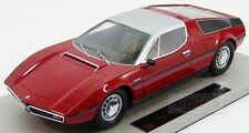 Maserati Bora 1977 Red Topmarques 1:18 TOP025A Model